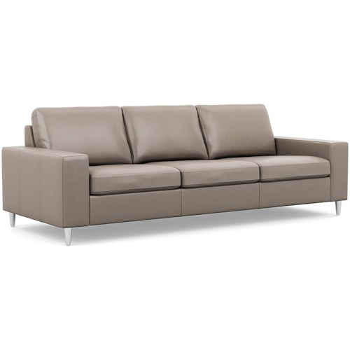 Palliser Bello Contemporary Sofa with Track Arms
