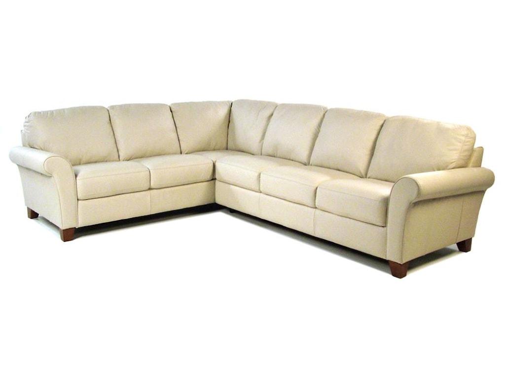 Palliser Sonesta2 Piece Leather Sectional
