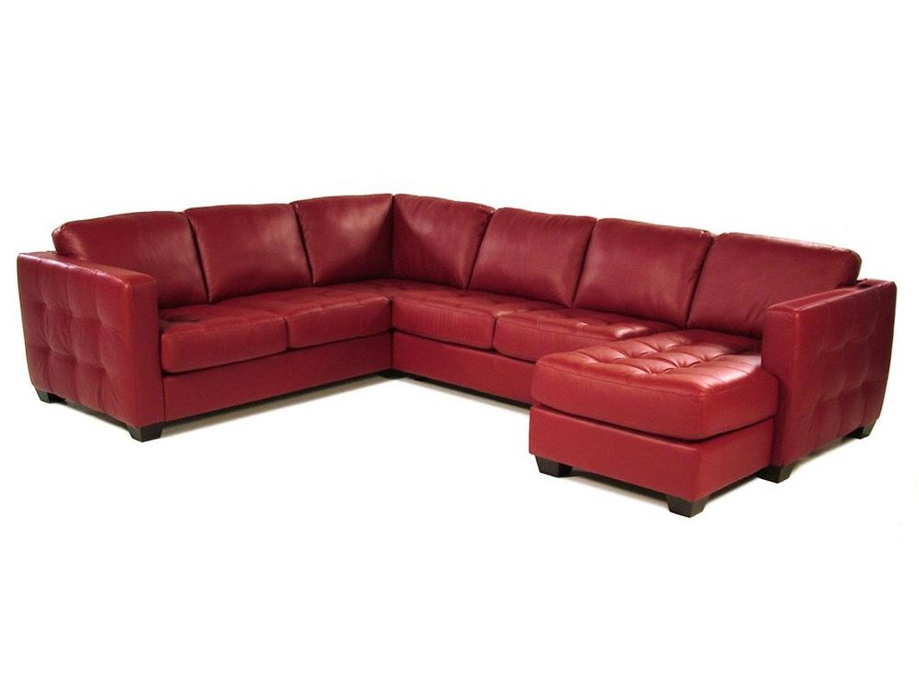 Tango Sofa Sectional with Decorative Track Arm