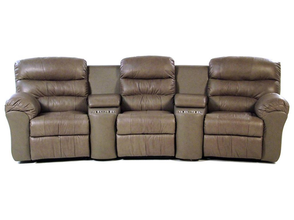 Palliser Hollywood5-PC Curved Home Theater Seating