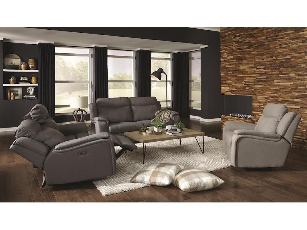 Palliser 40167Power Headrest Reclining Sofa