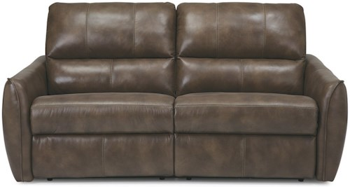 Palliser Arlo Contemporary Power Sofa with Tapered Arms