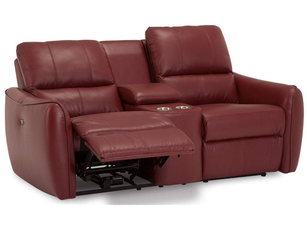 Palliser ArloConsole Loveseat w/ Power Recline