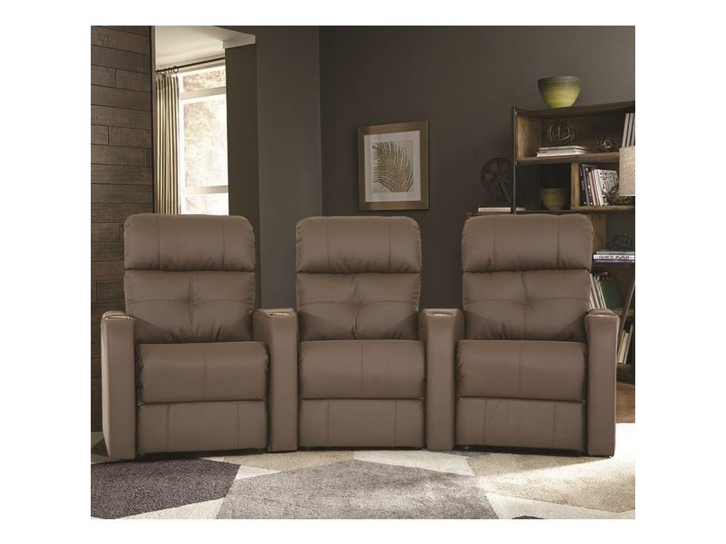 Palliser AudioTheater Sectional