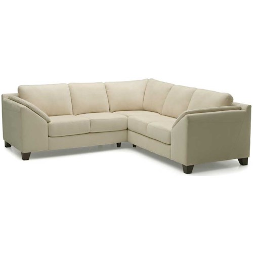 Palliser Cato Contemporary Upholstered Sectional Sofa