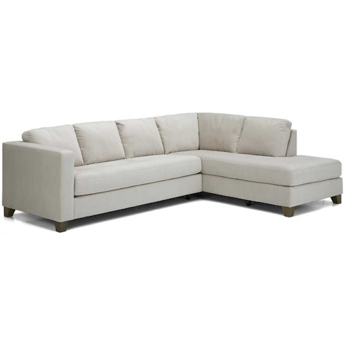 Palliser Jura Leather Upholstered Sectional Sofa
