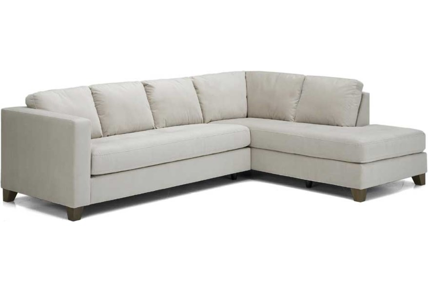 Leather Upholstered Sectional Sofa