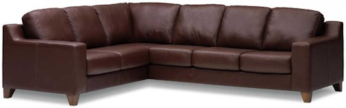 Palliser Reed 77289 Corner Sectional Sofa