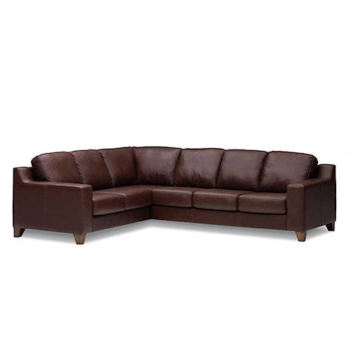 Palliser Reed 77289 Corner Sectional Sofa