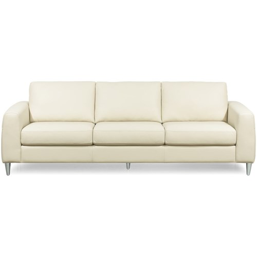 Palliser Atticus Contemporary Sofa with Track Arms