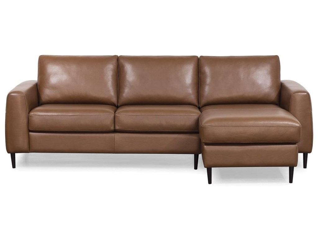 reputable site 1befa 2b28d Atticus Contemporary Sectional Sofa with Right Arm Facing ...