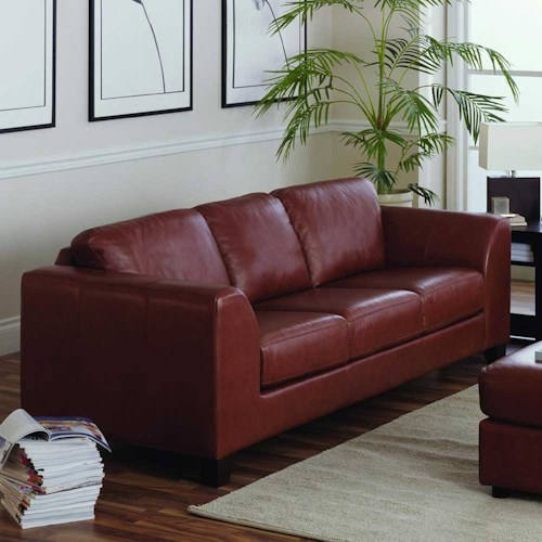Palliser Juno Elements 77494 Three Seat Stationary Upholstered Sofa