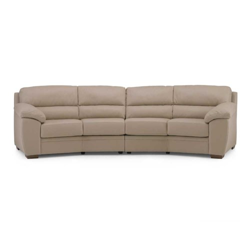 Palliser Cypress Contemporary Sectional Sofa