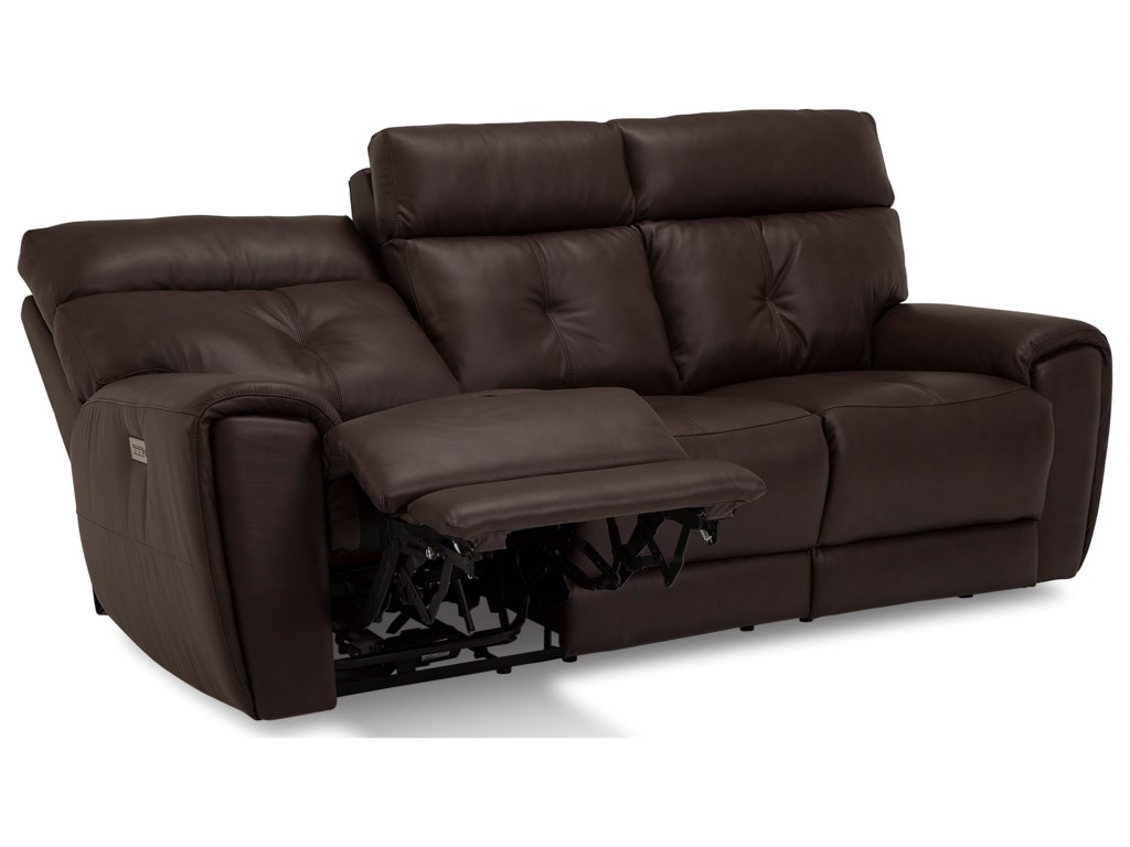 Palliser AedonSofa Power Recliner w/ Pwr Headrest & Lumbar