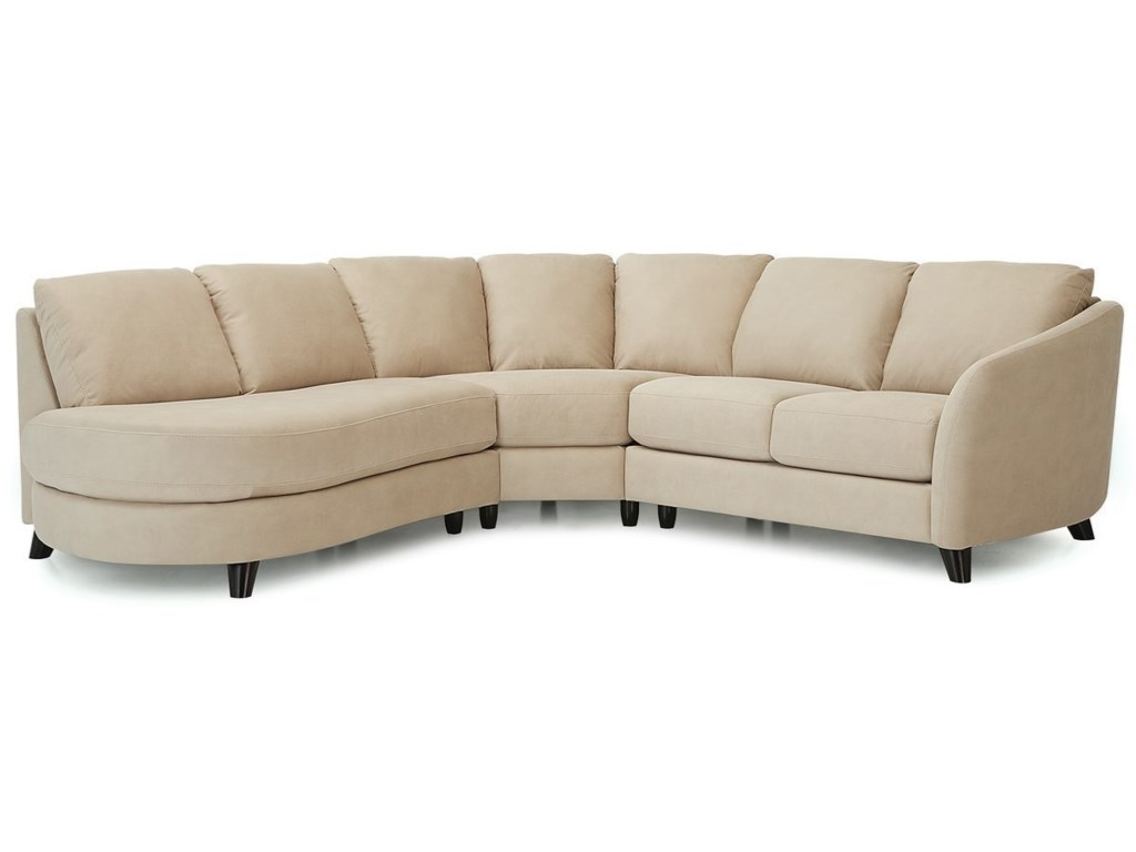 Palliser Alula 77427Sectional Sofa