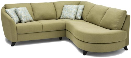 Palliser Alula 77427 Sectional Sofa with Love Seat and Chaise