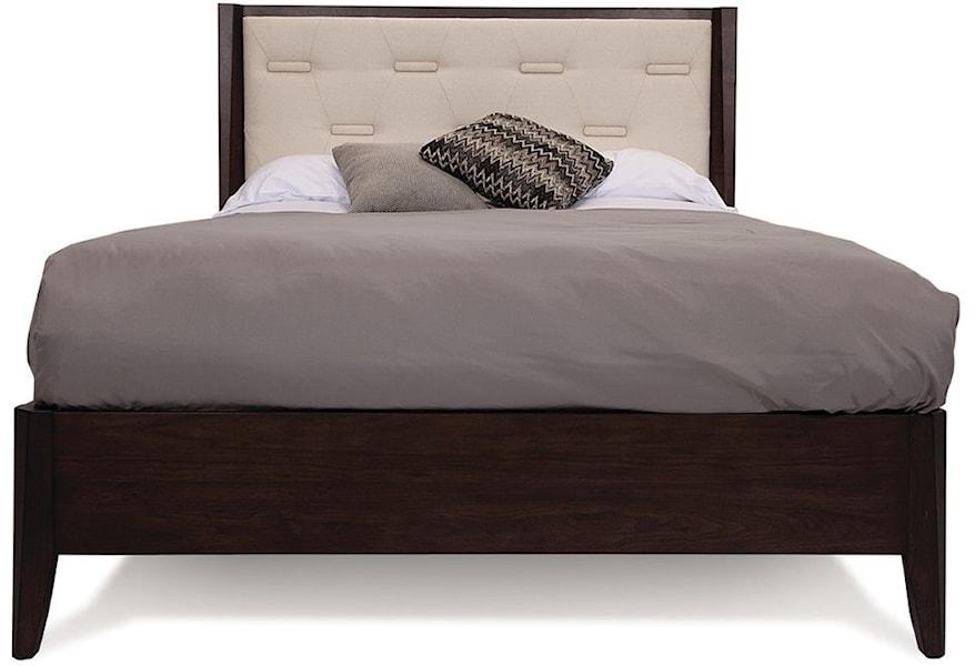 Palliser Aria 130 550 511 505 Transitional King Upholstered Bed Upper Room Home Furnishings Upholstered Beds