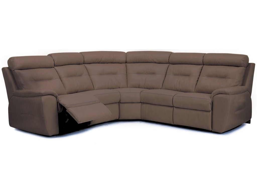 Palliser ArlingtonTraditional Reclining Sectional Sofa