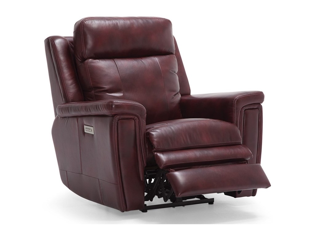 Palliser AsherWallhugger Power Recliner w/ Pwr HR & Lumbar