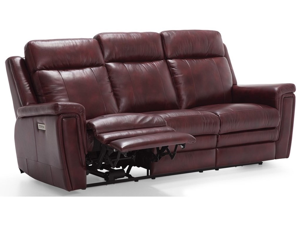 Palliser AsherSofa Power Recliner w/ Pwr HR & Lumbar