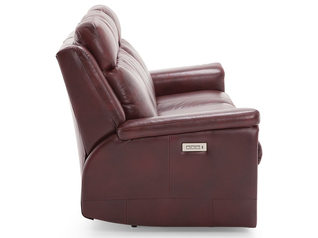 Palliser AsherSofa Power Recliner with Power HR