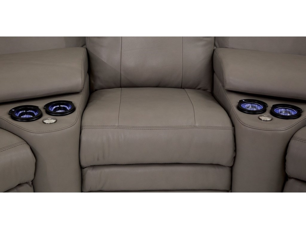 Palliser AsherPower Reclining Section with Power Headrests