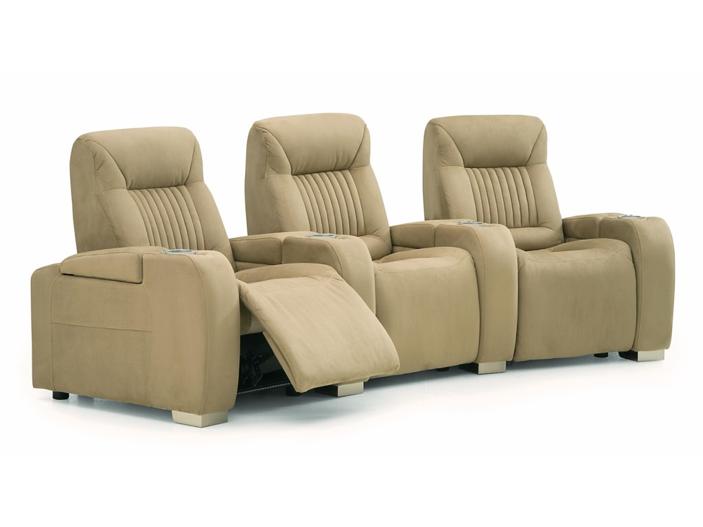 Palliser AutobahnManual 3 pc. Theather Seating
