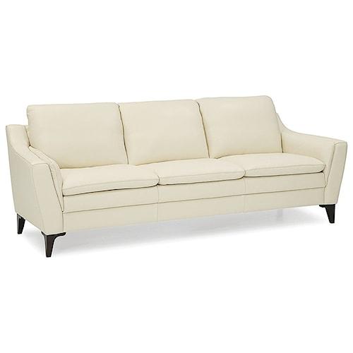 Palliser Balm Contemporary Sofa With Interior Arm Padding