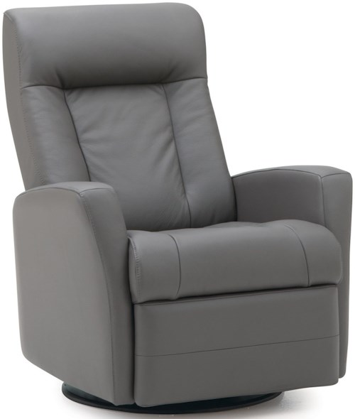 Palliser Banff II Contemporary Swivel Glider Recliner with Track Arms