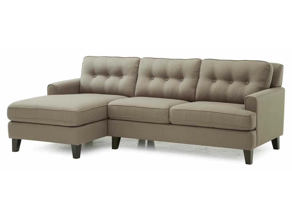 Palliser BarbaraTwo Piece Sectional Sofa with LHF Chaise