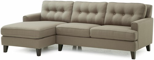 Palliser Barbara Two Piece Sectional Sofa with LHF Chaise