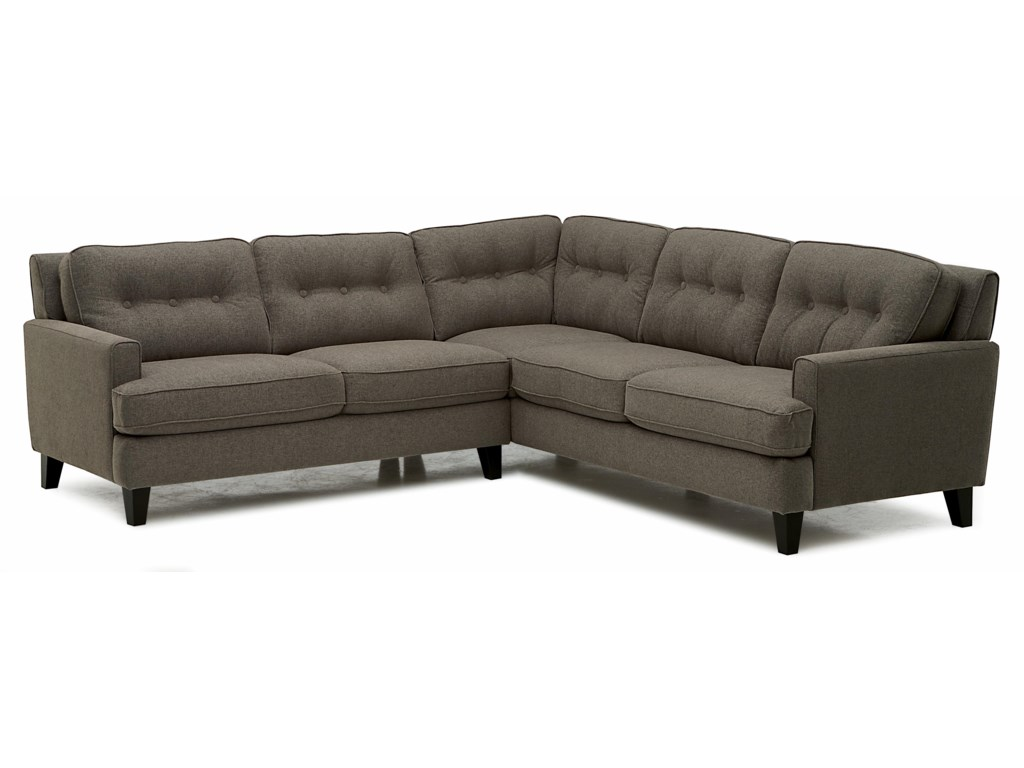 Palliser BarbaraTwo Piece Sectional Sofa with RHF Loveseat