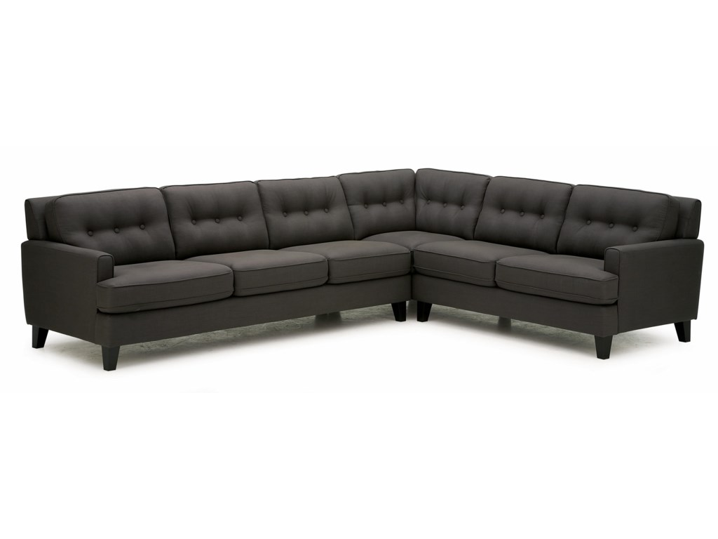 Barbara Two Piece Sectional Sofa With Lhf Split