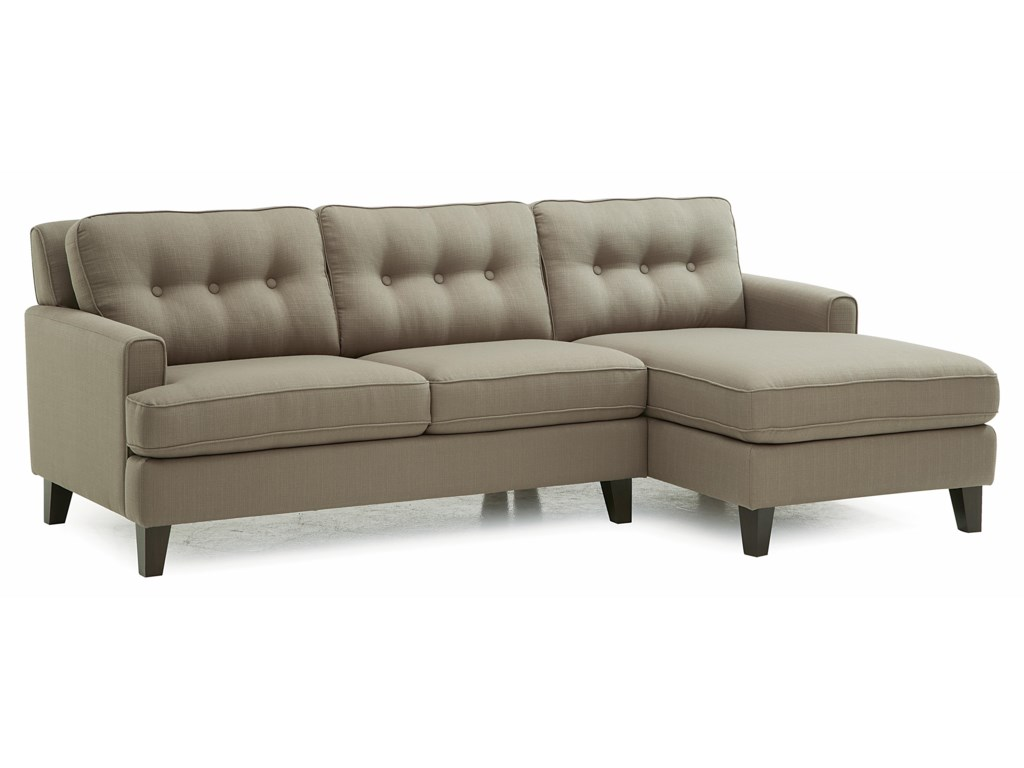 Palliser BarbaraTwo Piece Sectional Sofa with RHF Chaise