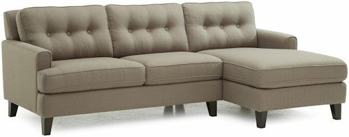 Palliser Barbara Transitional Sectional Sofa with RHF Chaise