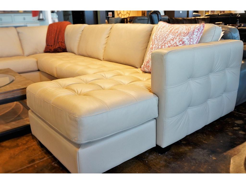 Palliser Barrett Sofa Sectional with Decorative Track Arm