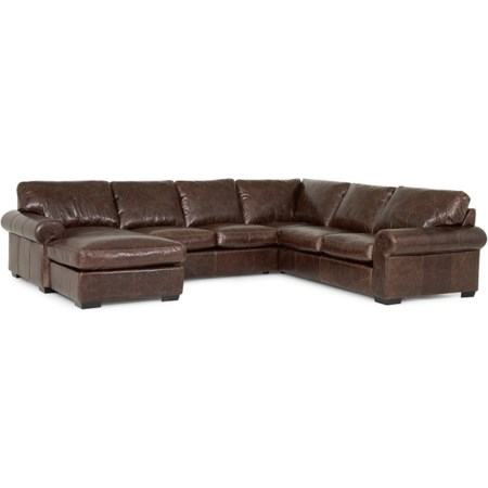 5-Seat Sectional Sofa w/ Left Chaise