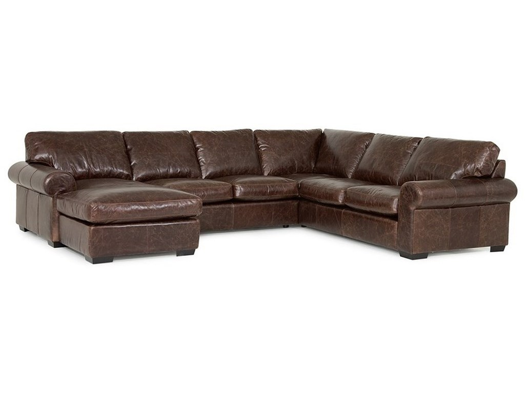 Palliser Barrington5-Seat Sectional Sofa w/ Left Chaise