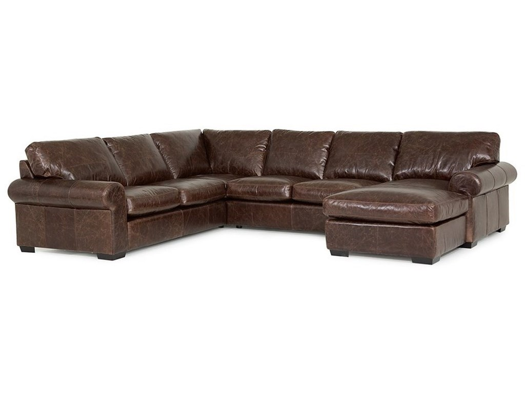 Palliser Barrington5-Seat Sectional Sofa w/ Right Chaise