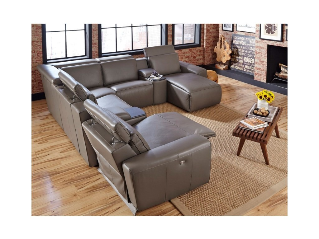 Palliser Beaumont5-Seat Corner Reclining Sectional