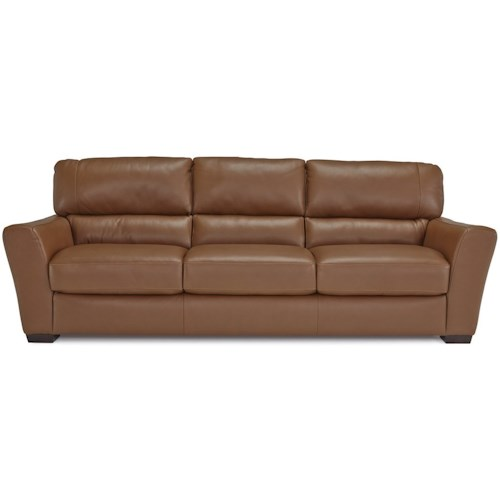 Palliser Becklow Casual Sofa with Flared Arms