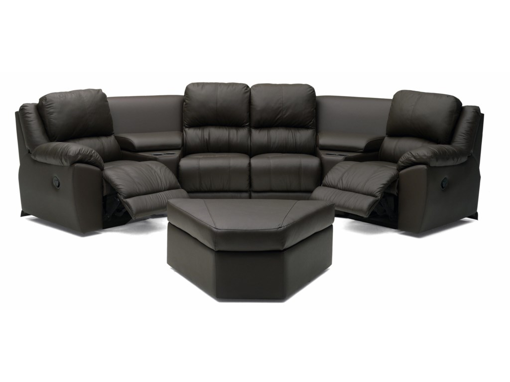 Palliser Benson 41164Reclining Sectional