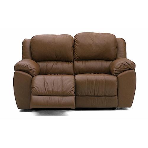 Palliser Benson 41164 Leather Reclining Love Seat