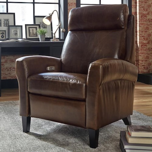 Palliser Biscayne Leather High Leg Power Recliner