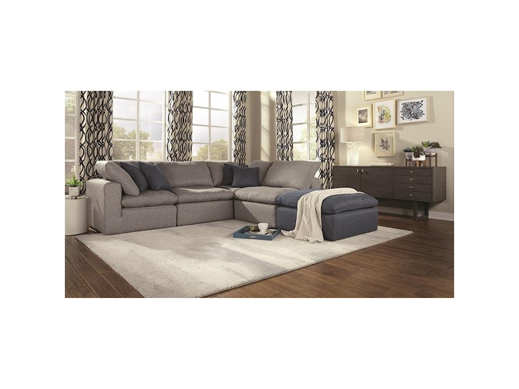 Palliser Bloom4-Seat Sectional Sofa