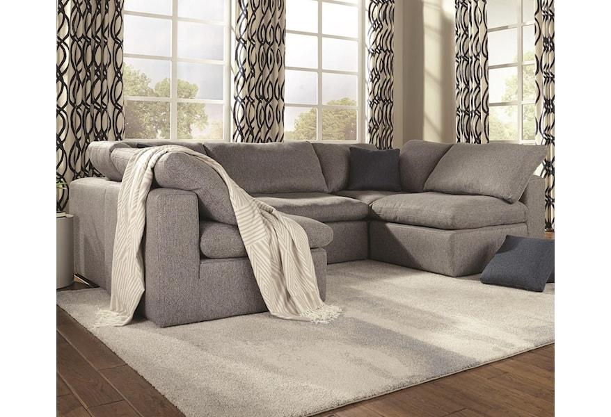 5 Seat U Shape Sectional Sofa