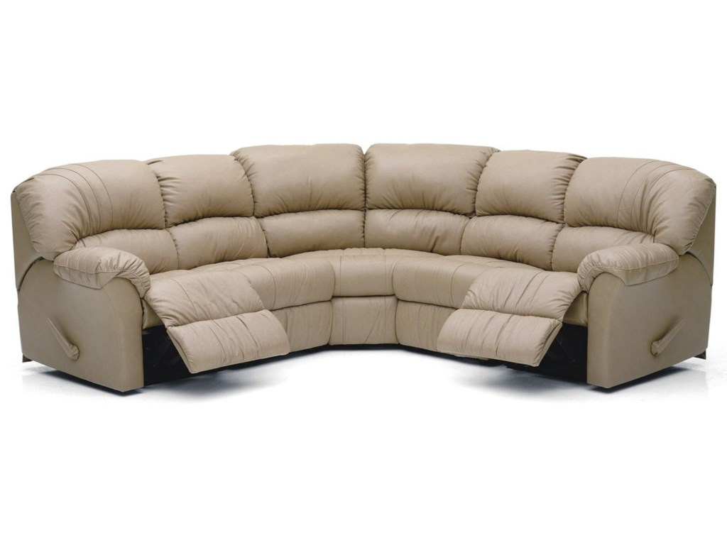Palliser Callahan4-Seat Power Reclining Sectional Sofa