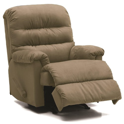 Palliser Columbus Wallhugger Recliner w/ Pillow Arms