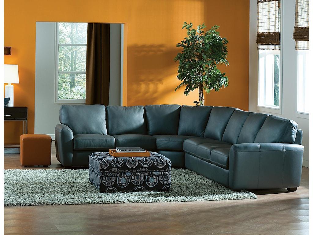 Palliser Connecticut4-Piece Sectional Sofa