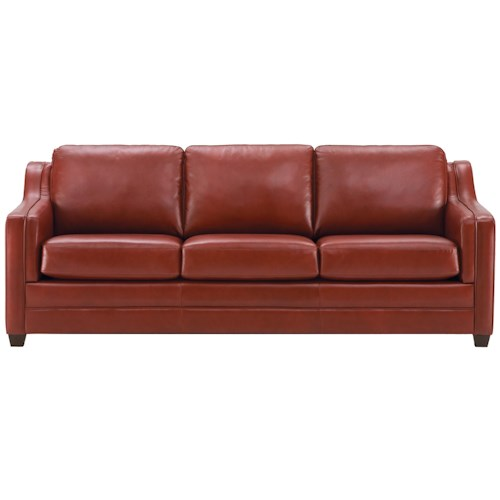Palliser Corissa Contemporary Sofa with Track Arms